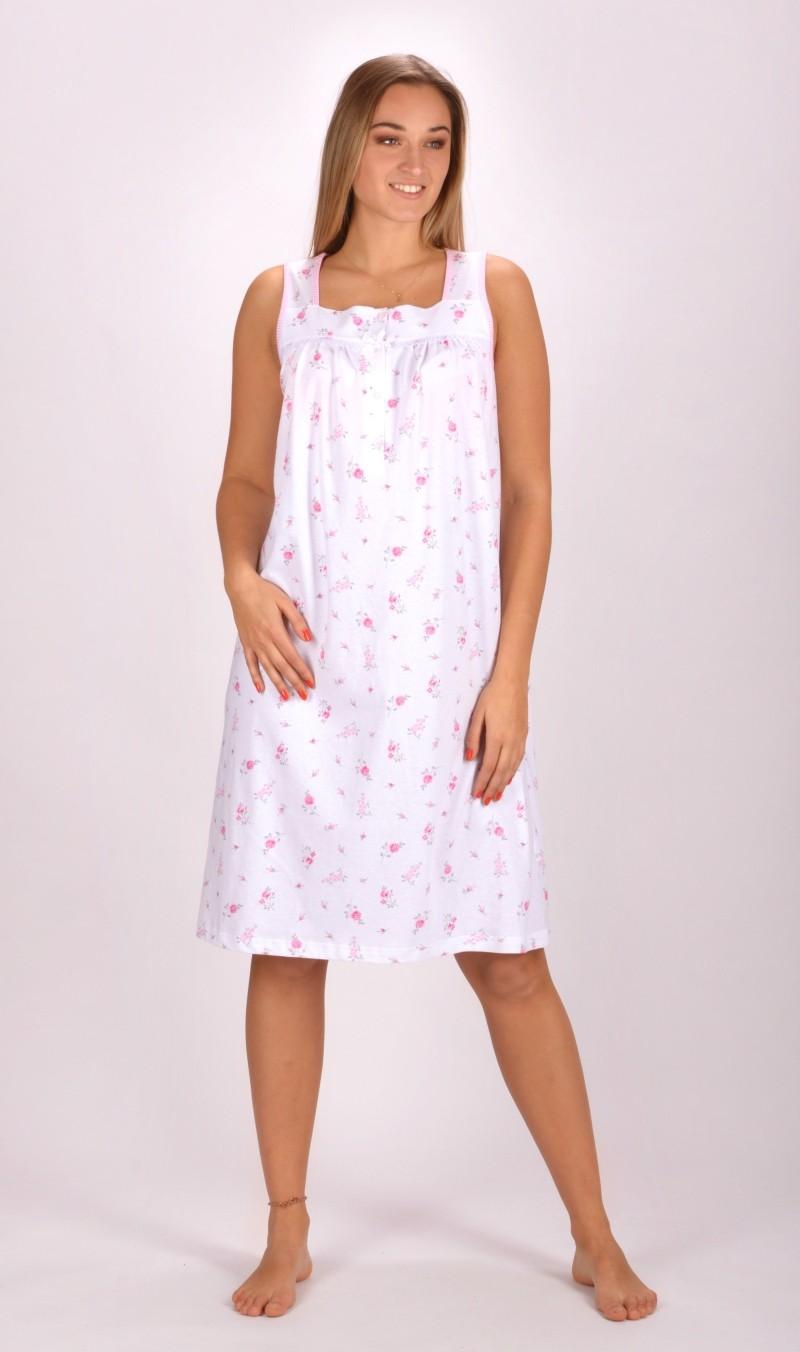10fea3734c0 Dámská noční košile na ramínka Vienetta Secret Karolína - Vienetta ...