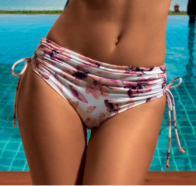 Dámské plavky Lormar SLIP FLORAL LACCI - zavazovací kalhotky - Lormar  (Dvoudílné plavky - Dámské plavky) 236f68b640