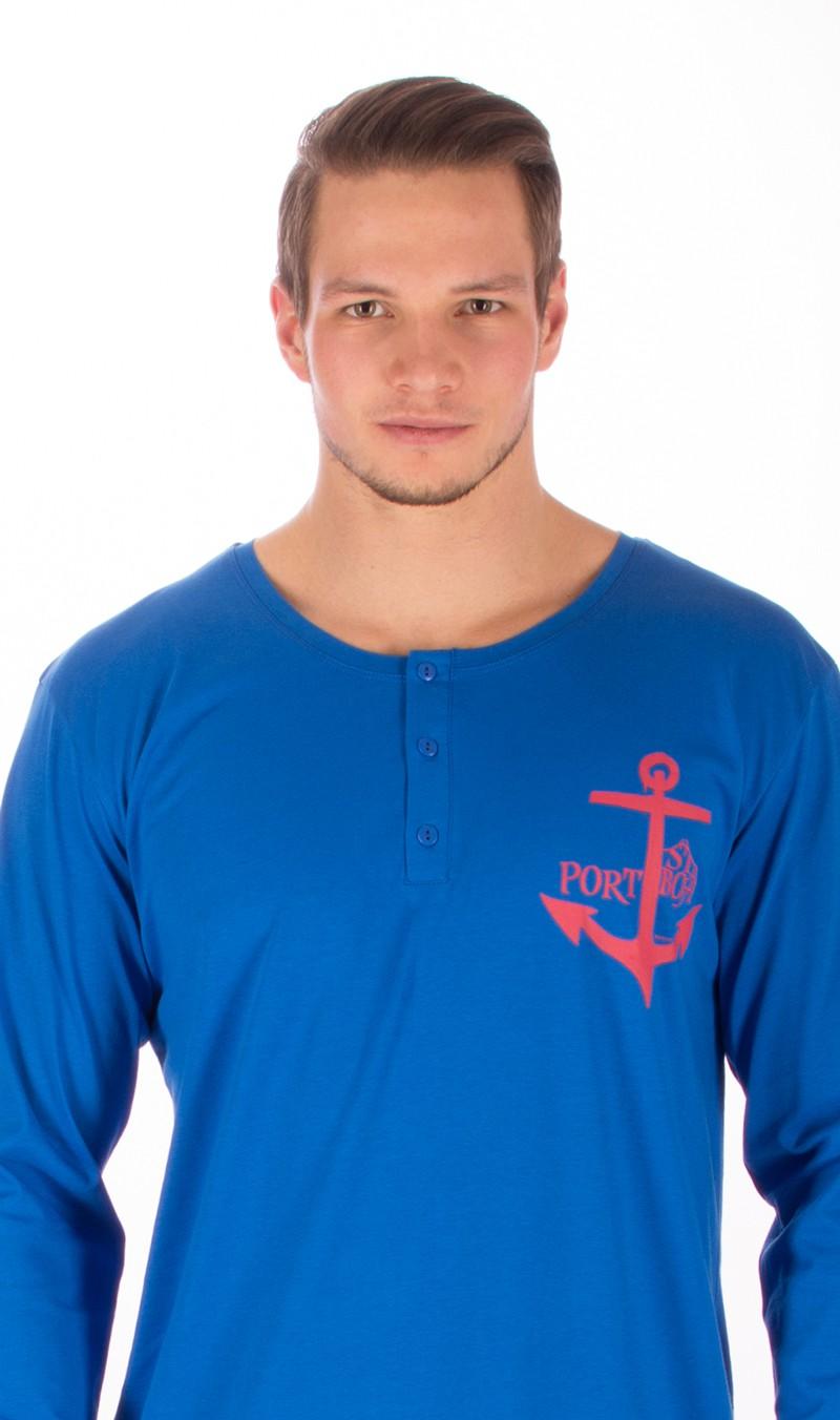 909abb20a9d Pánská noční košile s dlouhým rukávem Vienetta Secret Kotva ...