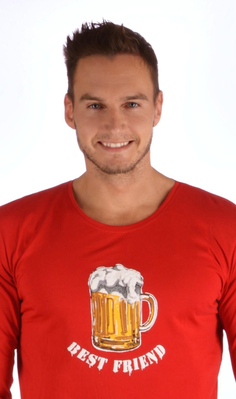 6464c50bed87 Pánské pyžamo dlouhé Vienetta Secret Velké pivo - Vienetta Secret ...