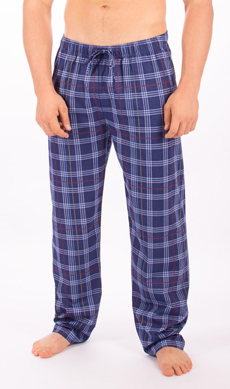 5c2c0f00d77f Pánské samostatné pyžamové kalhoty Vienetta Secret Kostka - Vienetta ...
