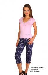 Dámské kapri pyžamo Cocoon 598 KK