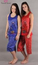 Dámské pyžamo kapri Vienetta Secret Veverka výprodej
