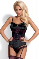 Dámský erotický korzet Obsessive Amarone corset