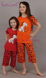Dětské pyžamo kapri Vienetta Secret Dalmatínci