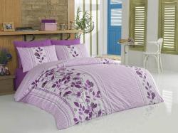 Ložní povlečení bavlna - Story lila