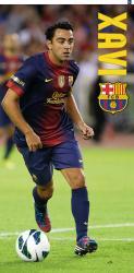 Bavlněná osuška DADKA FC Barcelona - Xavi 75x150 cm