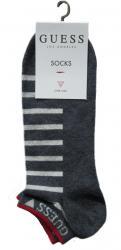 Bavlněné ponožky Guess U84Y03 modré