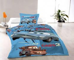 Bavlněné povlečení - Cars II.