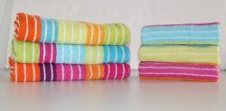 Bavlněný ručník DADKA žakár proužek