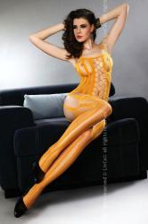 Bodystocking Almas orange