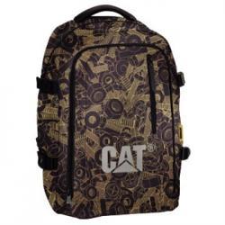 Batoh CAT Kyoto Campus medium Screw AOP černo žlutý 119509