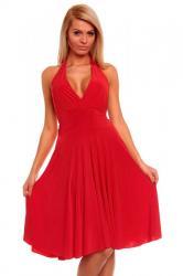 Červené dámské šaty Queen o.f. Hs-sa86re