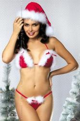 Dámksý Vánoční kostým Obsessive Santa´s Helper set