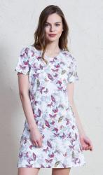 Dámská barevná noční košile Vienetta Secret Adéla