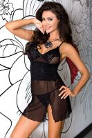 Dámská erotická košilka Axami V-5629 Obsidian