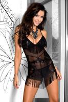 Dámská erotická košilka Axami V-5639 Onyx