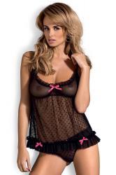 Dámská erotická košilka Obsessive Malika babydoll