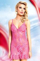 Dámská erotická košilka SoftLine collection April pink