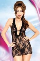 Dámská erotická košilka Softline collection Carmen black