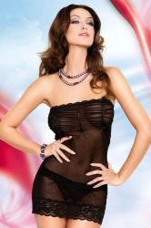 Dámská erotická košilka SoftLine Collection Deni black