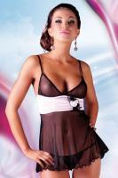 Dámská erotická košilka Softline collection Fiore black