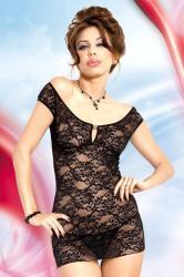 Dámská erotická košilka SoftLine Collection Linley black