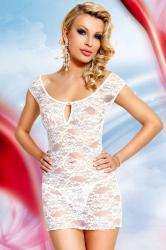 Dámská erotická košilka SoftLine Collection Linley white