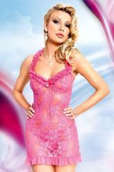 Dámská erotická košilka SoftLine Collection Mia pink