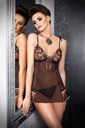 Dámská erotická košilka Tessoro Black iris 226