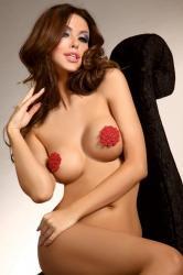 Dámská erotická ozdoba LivCo Circle - nipple covers model 7