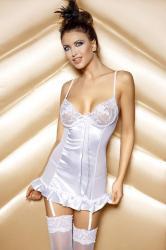Dámská erotická souprava Anais Naomi set white