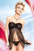 Dámská erotická souprava SoftLine Collection Tanya black