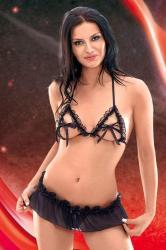 Dámská erotická souprava SoftLine Collection Val black