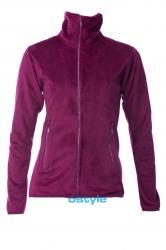 Dámská fleece mikina O´Style 6302 fialová