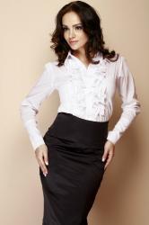 Dámská košile FIGL M012 white
