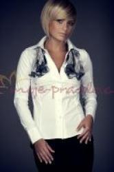 Dámská košile FIGL M021 white