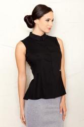 Dámská košile FIGL M357 černá