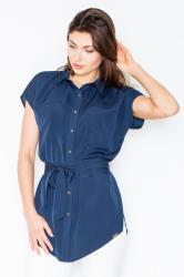 Dámská košile FIGL M463 modrá
