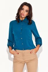 Dámská košile Katrus K059 modrá