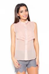 Dámská košile Katrus K378 růžová