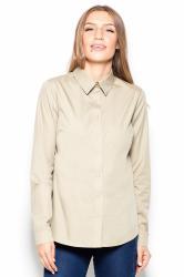 Dámská košile Katrus K384 olivová