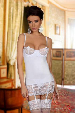 Dámská košilka Beauty Night Fashion Shirley chemise white