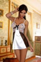 Dámská košilka Beauty Night Fashion Yasmine chemise bílá
