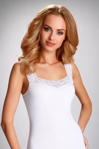 Dámská košilka Eldar Arietta bílá