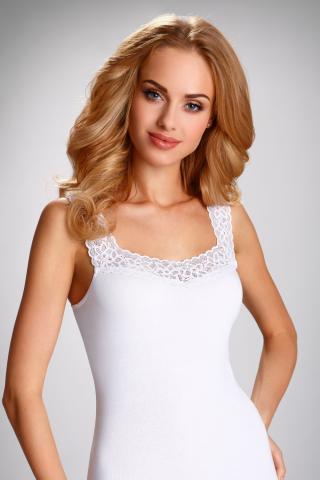 Dámská košilka Eldar Arietta plus bílá