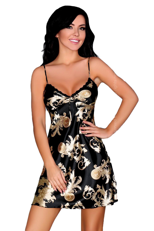 f71026abd5c Dámská košilka LivCo Dragana black - LivCo Corsetti Fashion (Košilky ...