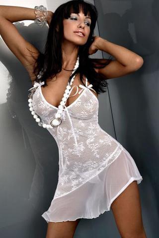 Dámská košilka Livia Corsetti Inez white