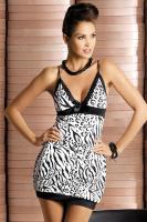 Dámská košilka Obsessive Zebra chemise