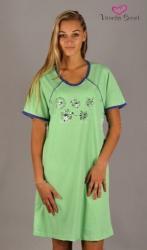 Dámská mateřská noční košile Vienetta Secret Květy